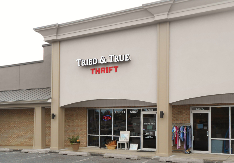 Tried & True -- Non-profit thrift shop benefiting relief programs of Church of the Brethren and Mennonite Church